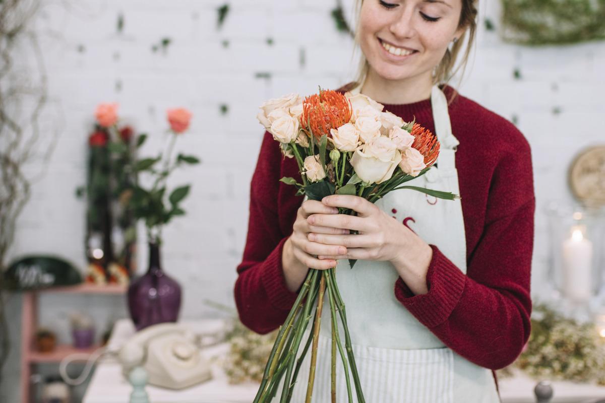 Создание интернет магазина цветов