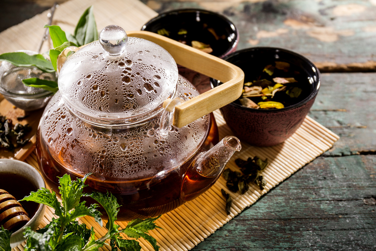 Создание интернет магазина чая